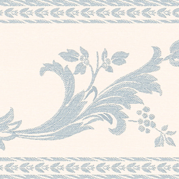 451 1647 Blue Scroll Silhouette   Brewster Wallpaper Borders 600x600