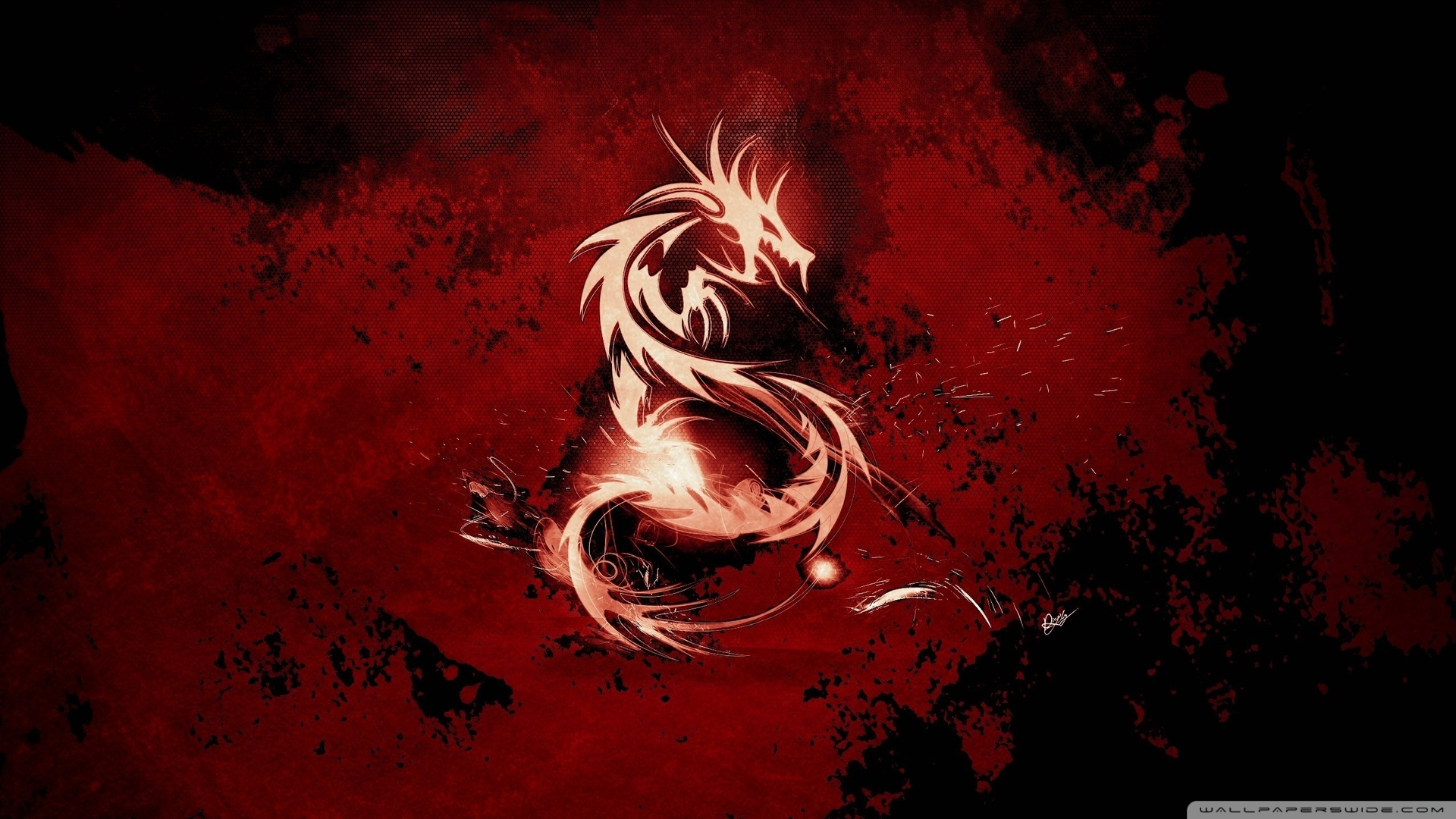 Blood Red Dragon Wallpaper 1920x1080 Blood, Red, Dragon