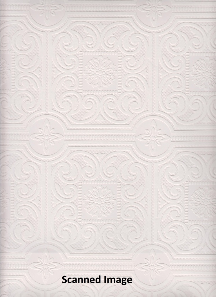 Paintable Wallpaper Textured Small Tile Paintable Sidewall White 745x1023