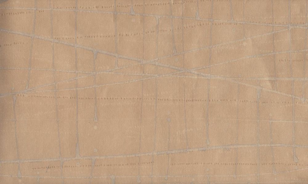 Wallpaper Bronze Metallic Faux with Grey Lines eBay 1000x599