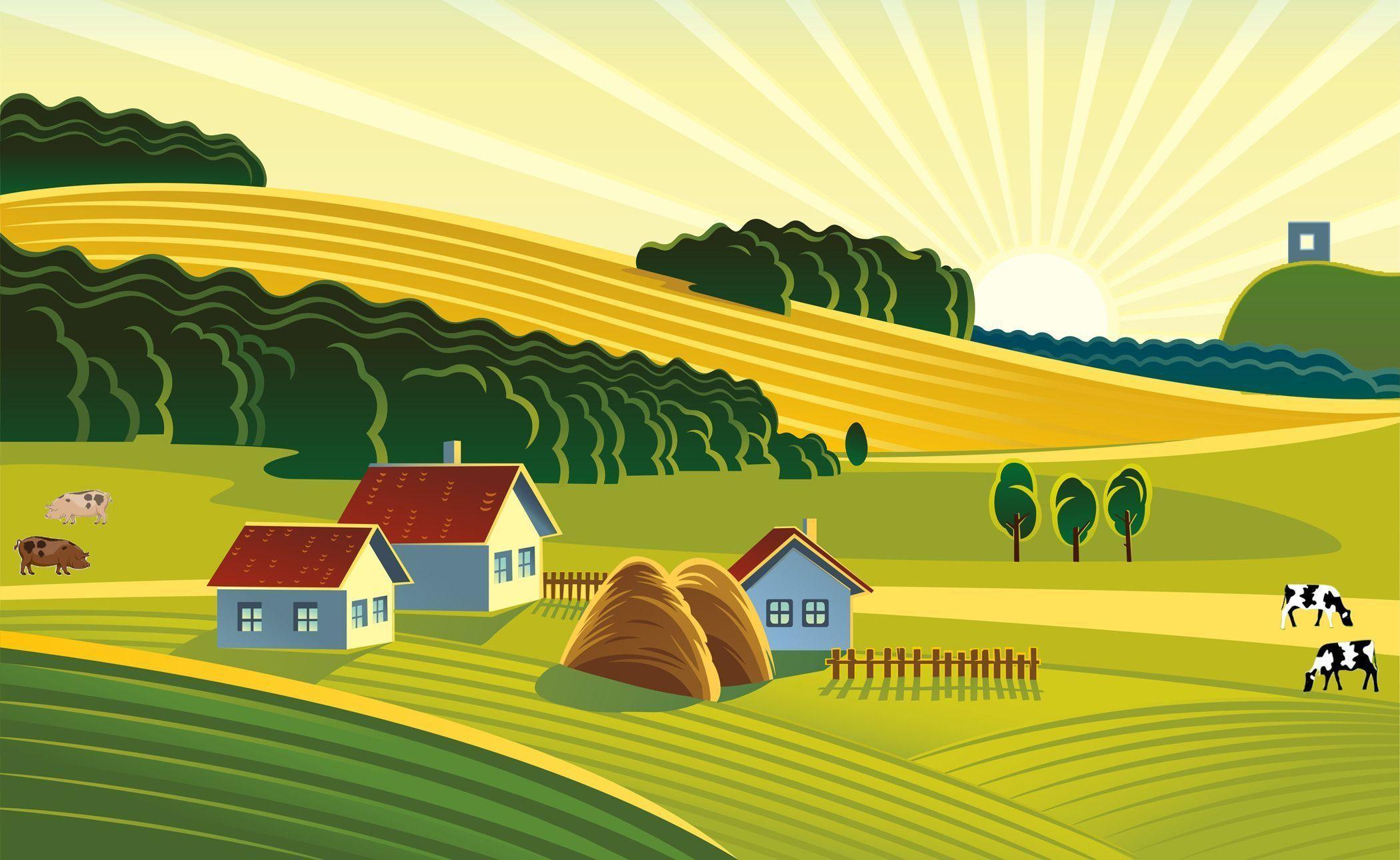 Farm Backgrounds Pictures 2100x1290