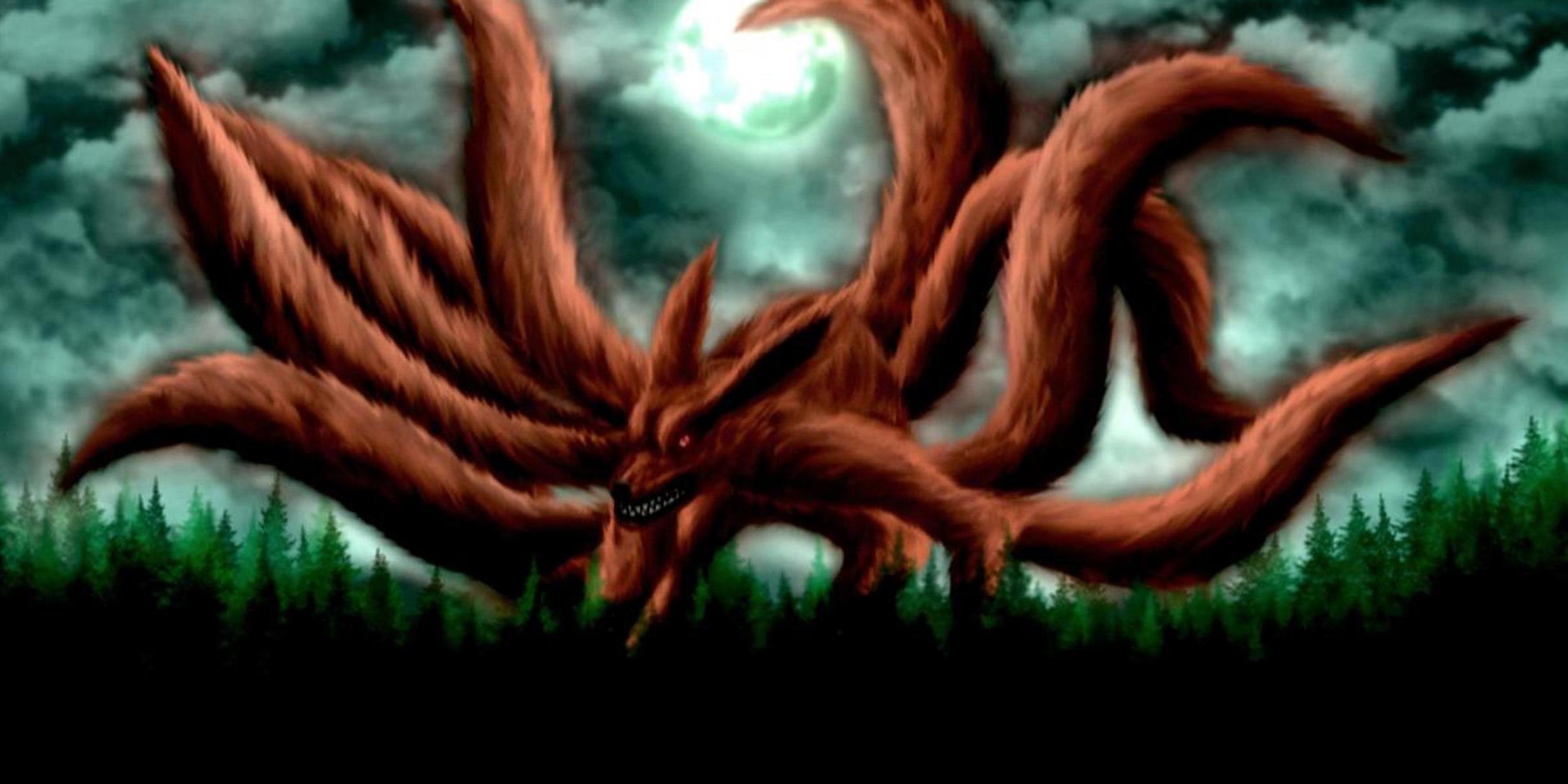 Naruto Nine Tails Wallpapers 2400x1200
