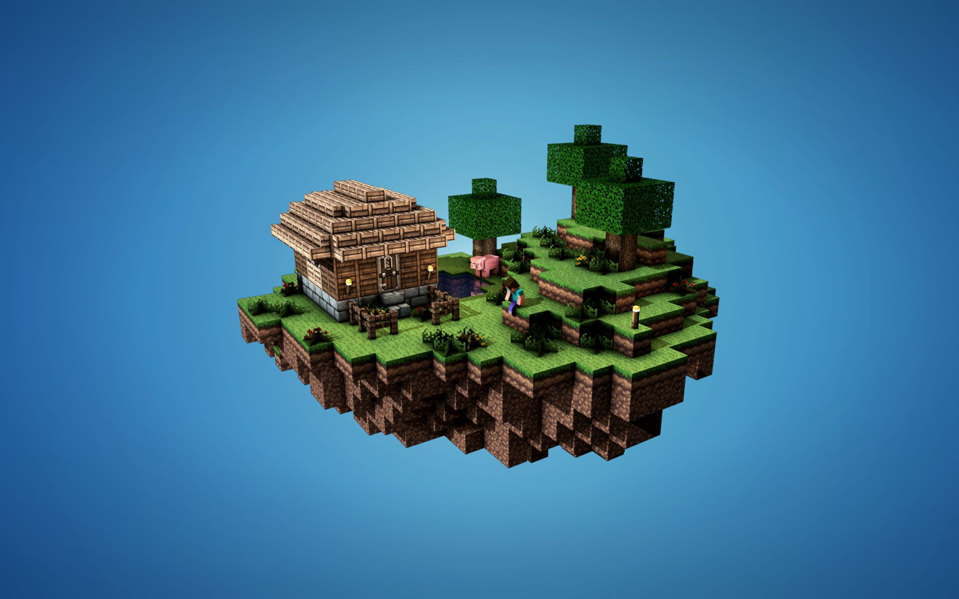 Minecraft Backgrounds For Your Computer 1920x1200