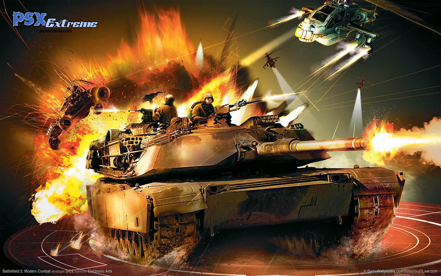 Battlefield 2 Modern Combat Wallpapers 1680x1050