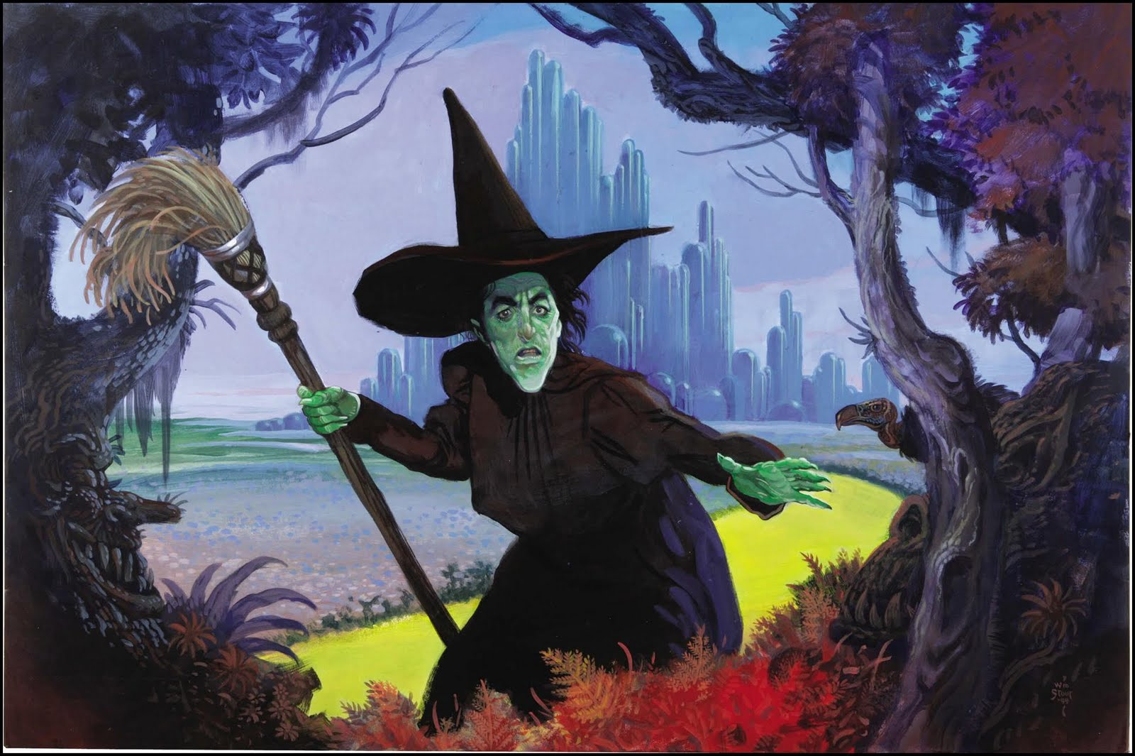 The Wicked Witch of the West by Bill Stout 1999 1600x1065