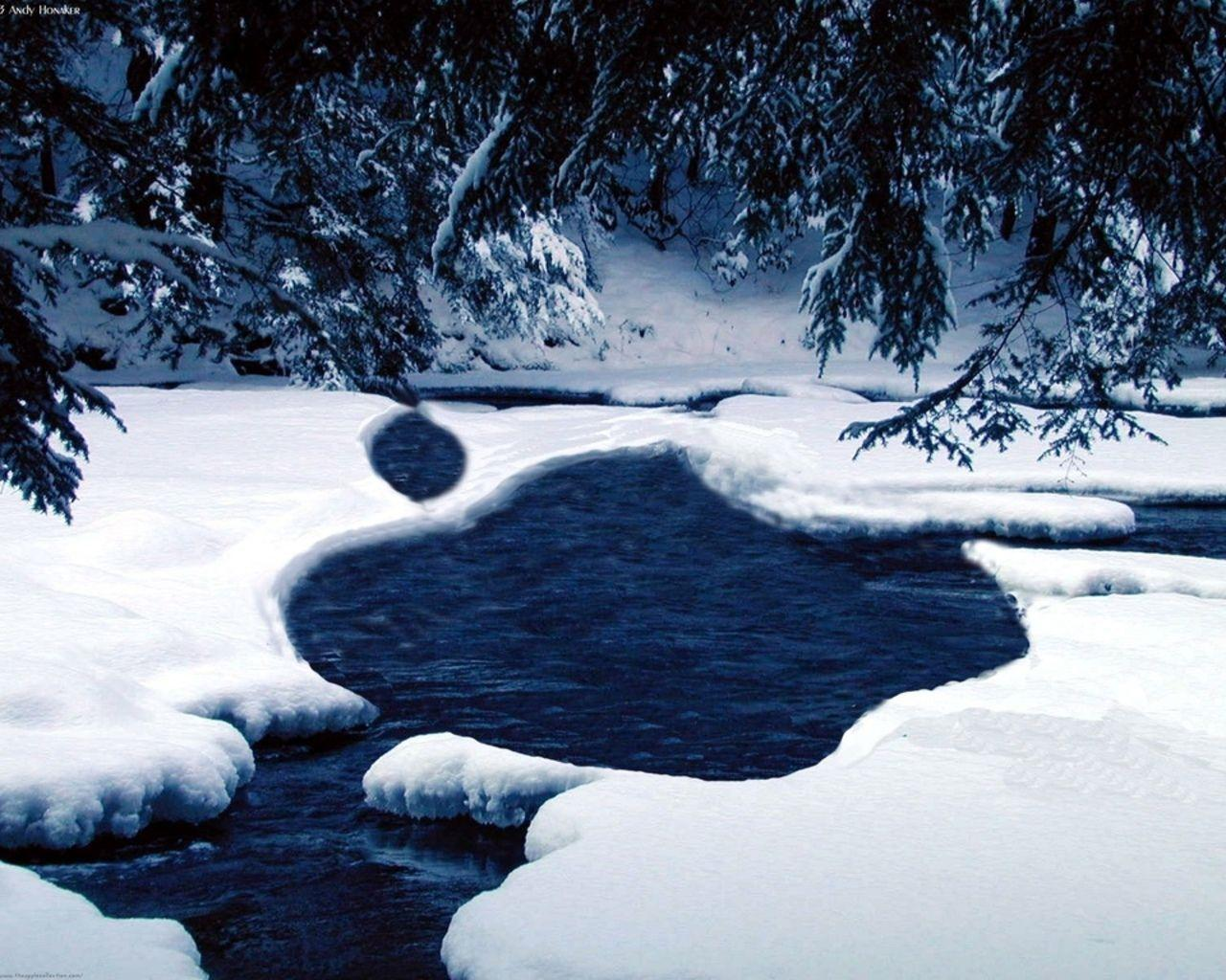 Mac Winter Wallpapers 1280x1024