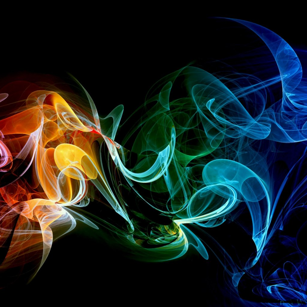 Colorful Smoke Wallpapers wallpaper wallpaper hd background 1024x1024