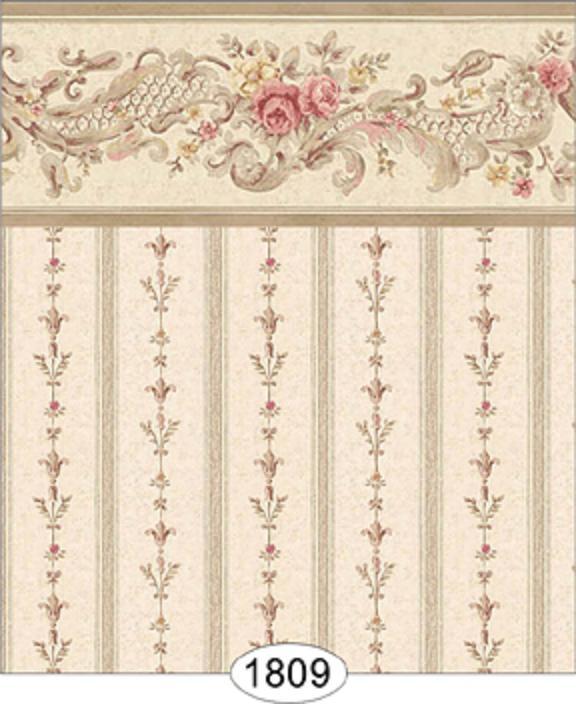 Dollhouse Wallpaper: Itsy Bitsy Mini Dollhouse Wallpaper