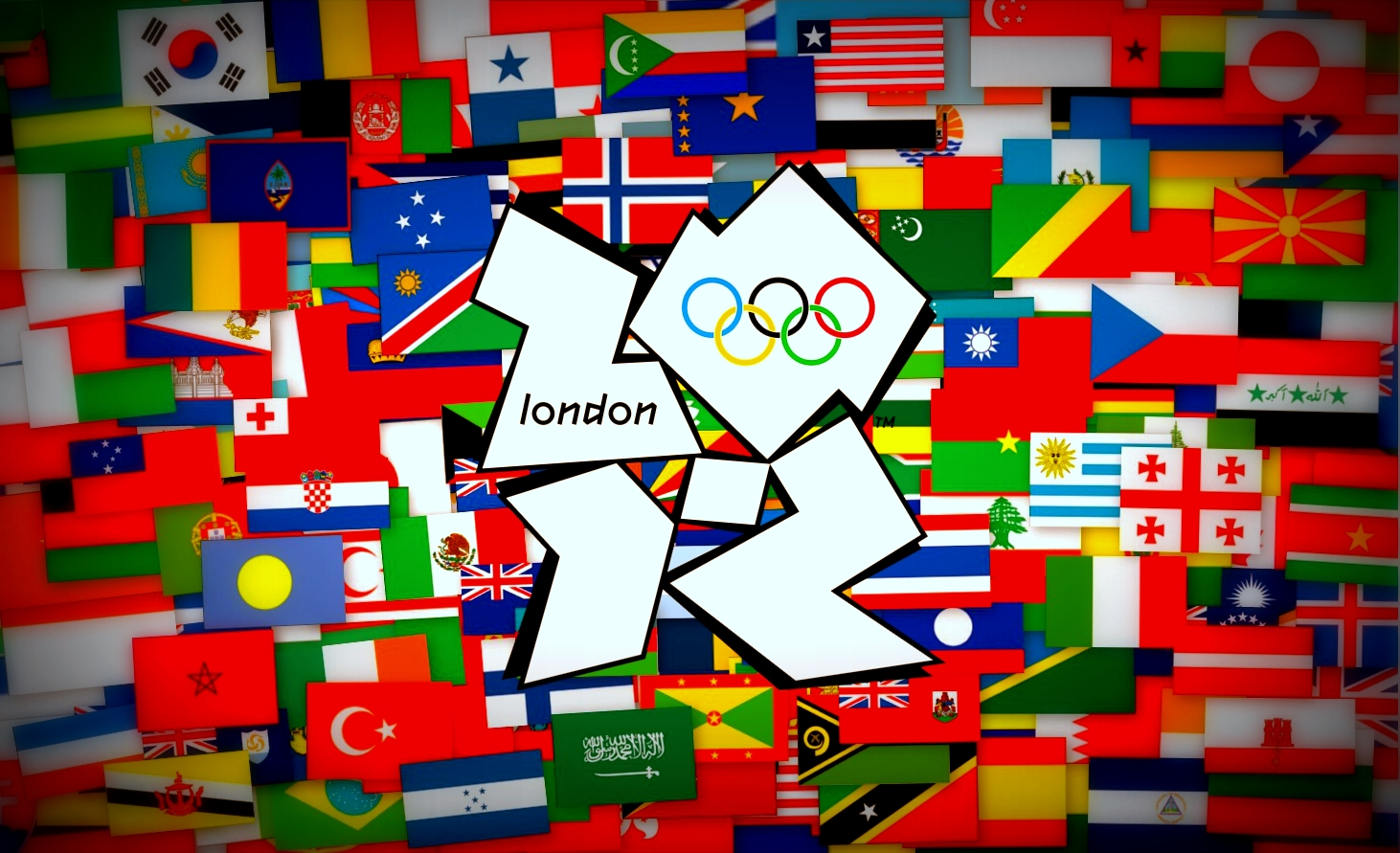 Olympic Countries flags High Quality Images 1462x891