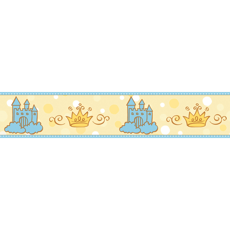Find IMPERIAL Princess and Castle Wallpaper Border at Lowescom Lowes 900x900