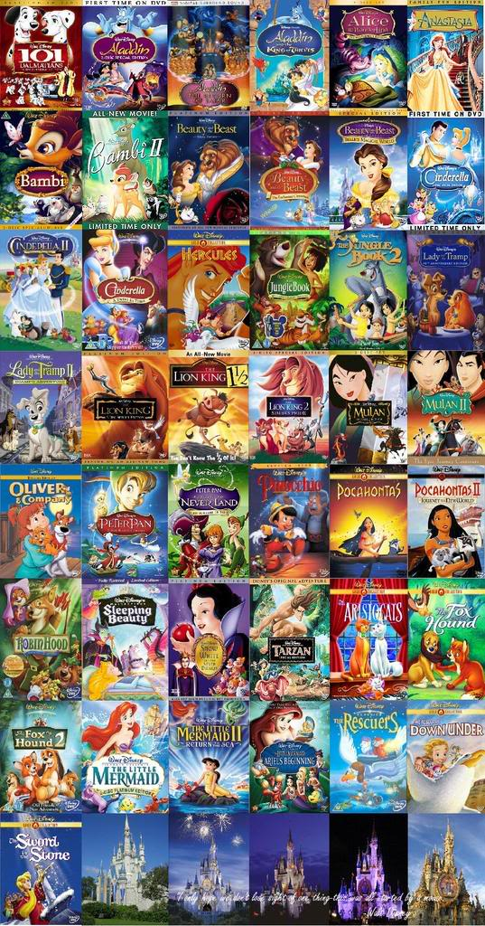 Dvd Collage Background   Disney Dvd Collage Wallpaper for Desktop 537x1024