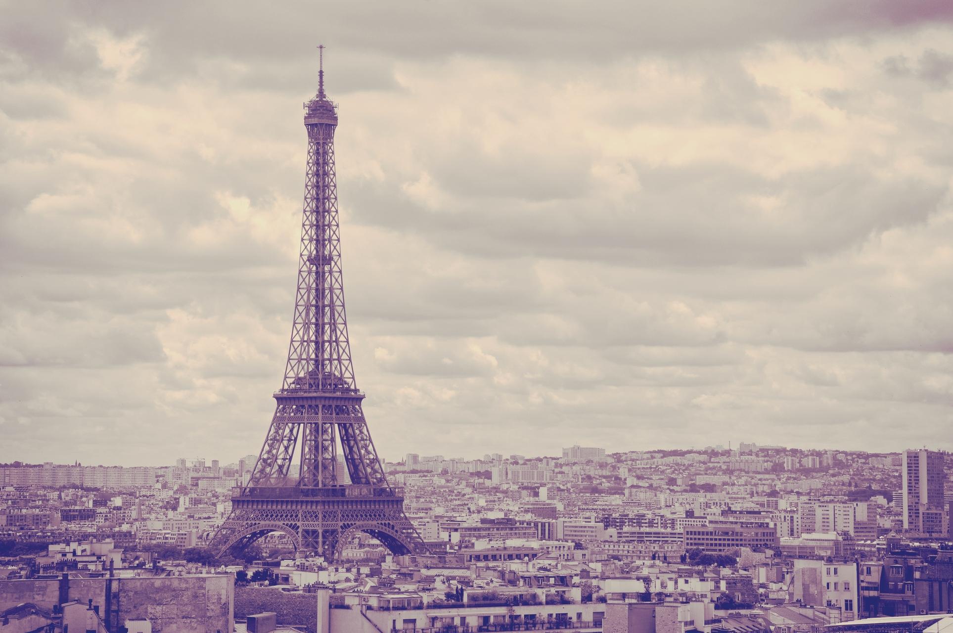 Paris Eiffel Tower   OGQ Backgrounds HD 1927x1280