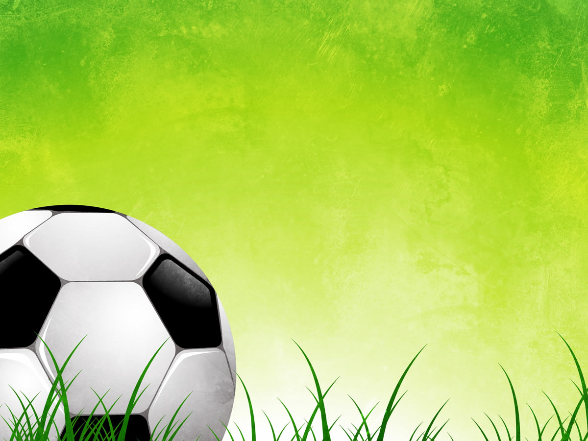 This is the Soccer Ball On Green Grass Abstract background image You 1200x900