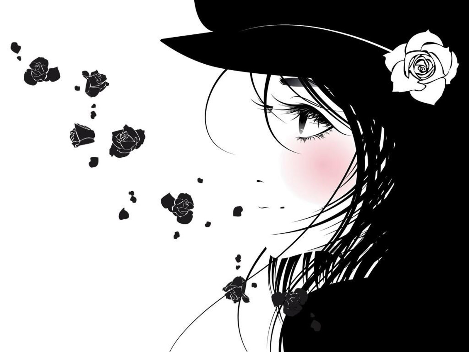 Emo Wallpapers Anime Wallpaper for Desktop   HD Wallpaper 1600x1200