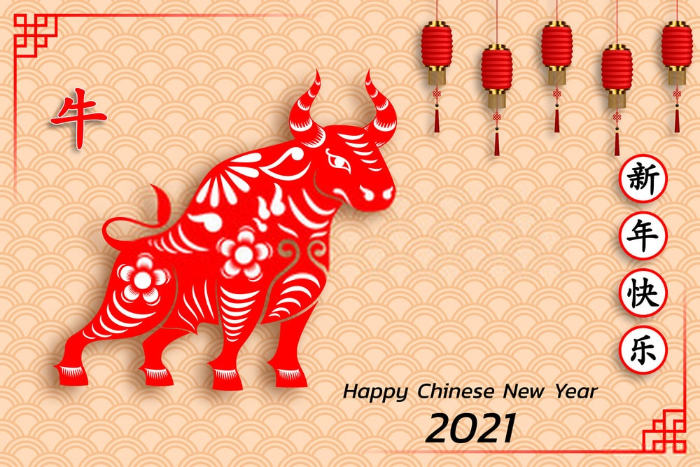 Chinese New Year 2021 Images Wallpaper for Amazing Year of OX 2021 1000x667