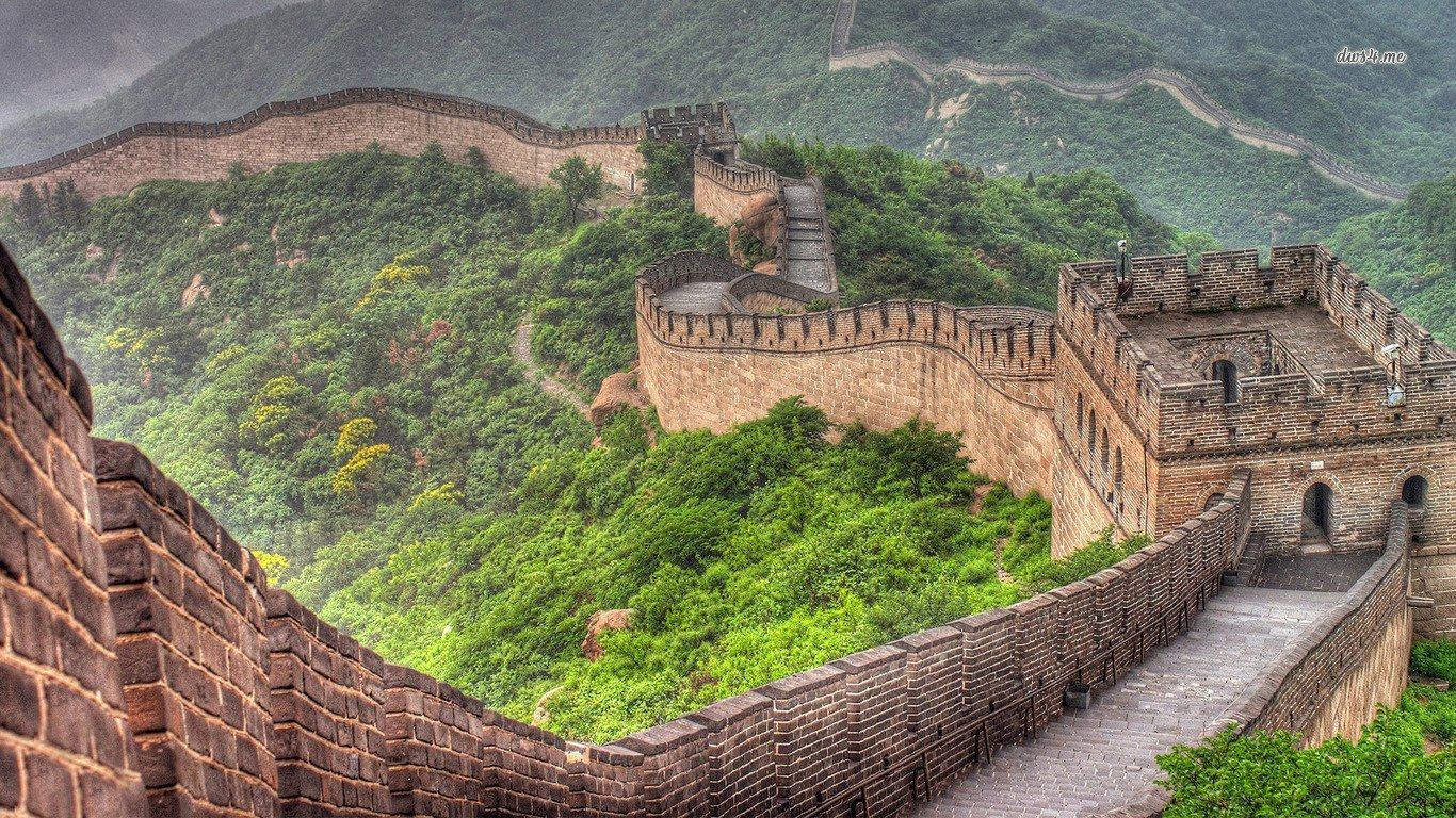 56 Great Wall of China HD Wallpapers Background Images 1366x768