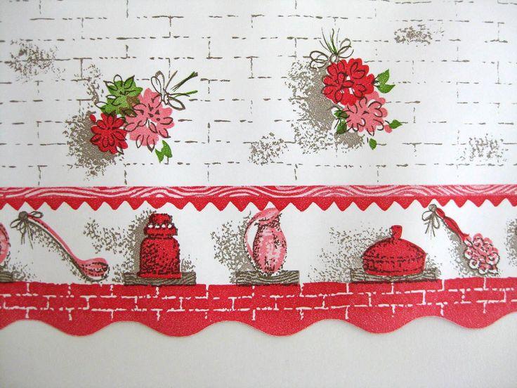 vintage wallpaper for sale wallpaper border wide unused roll sale 50 s 736x552