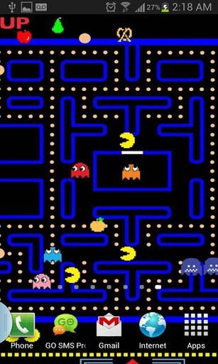 50 Pacman Live Wallpaper On Wallpapersafari