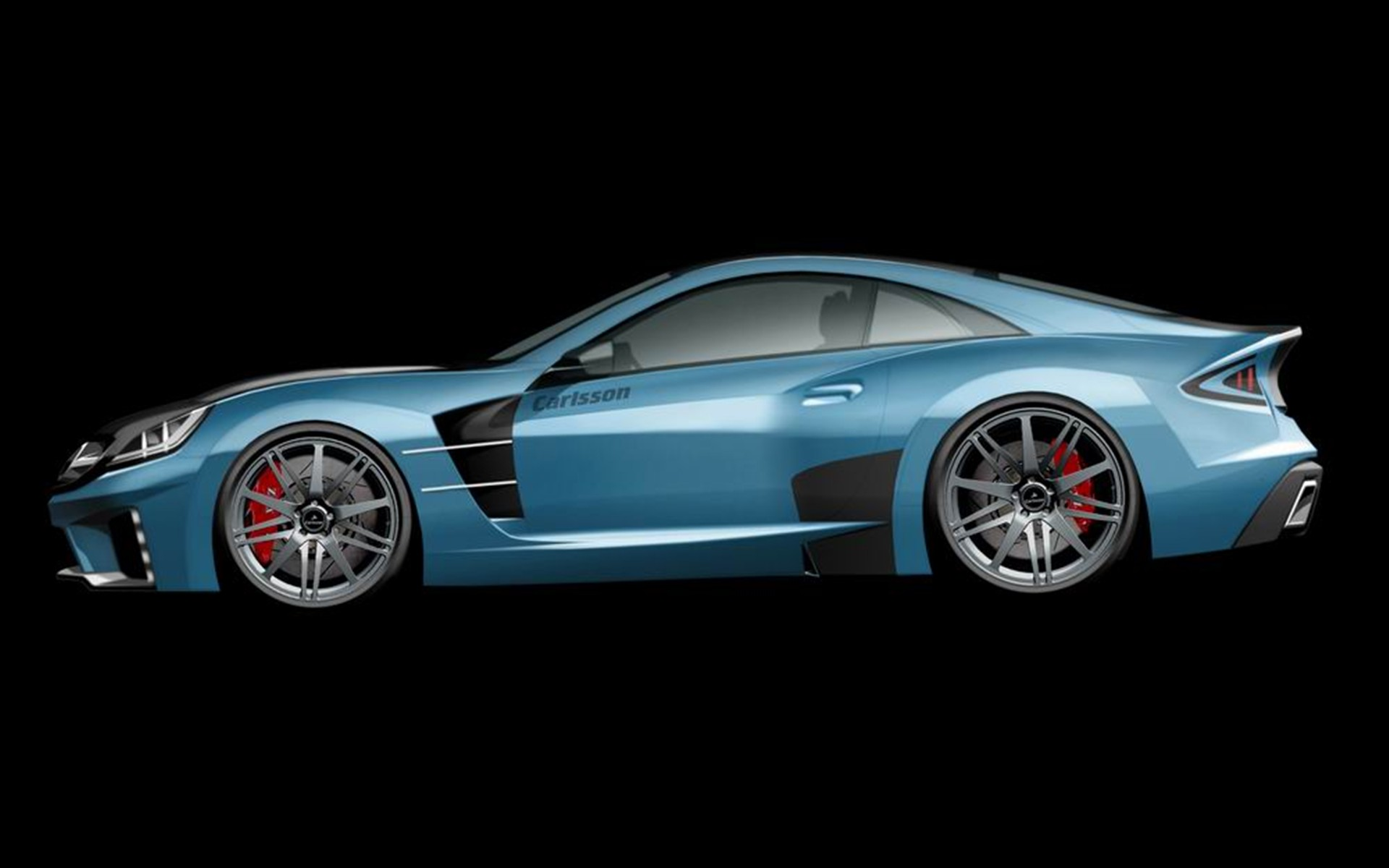 Carlsson C25 Blue Car Wallpapers HD Wallpapers 1920x1200