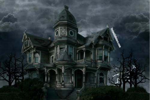 Haunted House HD per Android live wallpaper Halloween style Il 500x334