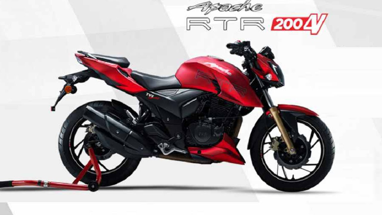 New TVS Apache RTR 200 4V Images Technical Specifications 1280x720
