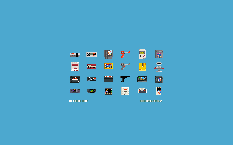 49 8 Bit Wallpaper Iphone On Wallpapersafari