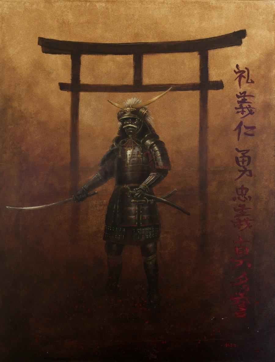 Bushido Samurai Wallpaper Bushido by nordheimer 900x1184