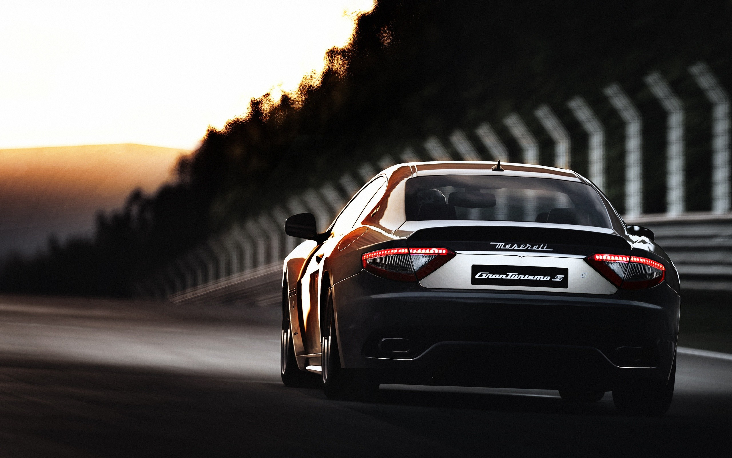 cars supercars Maserati GranTurismo exotic cars Wallpapers 2560x1600