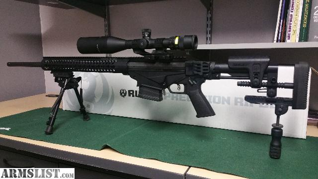 ARMSLIST   For Sale Ruger Precision 65 rifle mint with extras 640x360