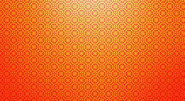 orange circle pattern backgrou by gos6 640x350