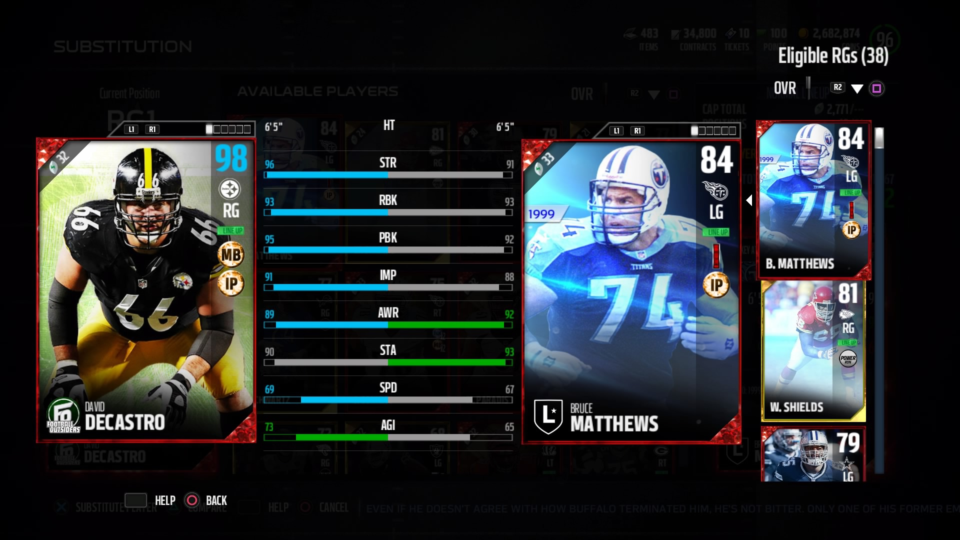 Fully Chemed Players MaddenUltimateTeam 1920x1080