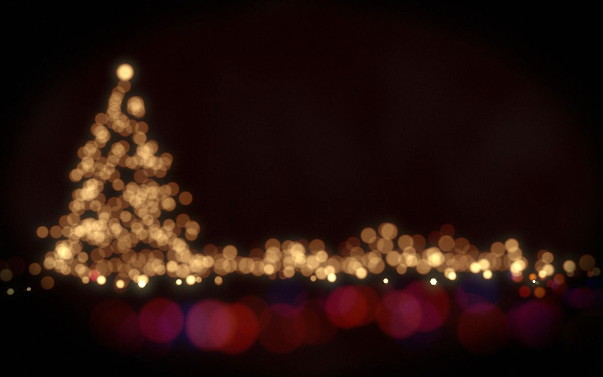 Christmas lights wallpaper 16246 1229x768
