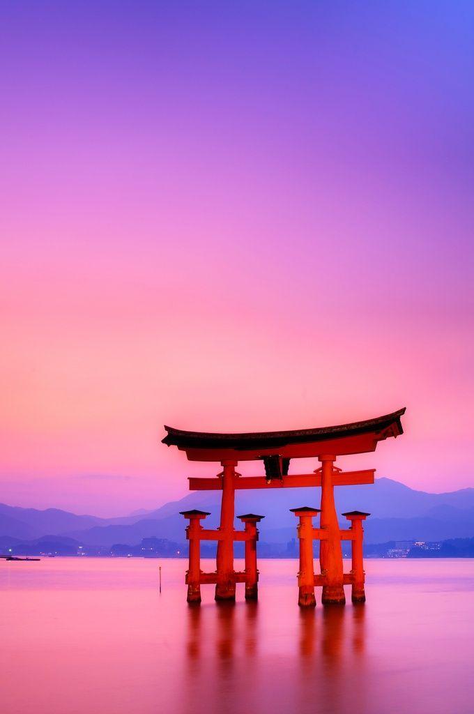 Itsukushima Miyajima   Torii 2 Japan Trip Suckas in 2019 680x1024