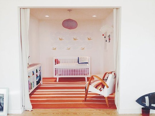 on a Budget Ideas for Using Removable Wallpaper In Small Quantities 540x405