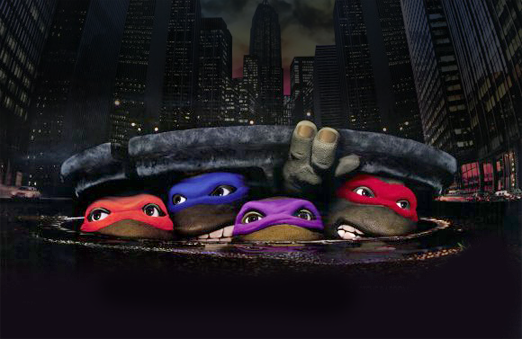 the cereal box Ninja turtle new toon and Fan Film 522x339