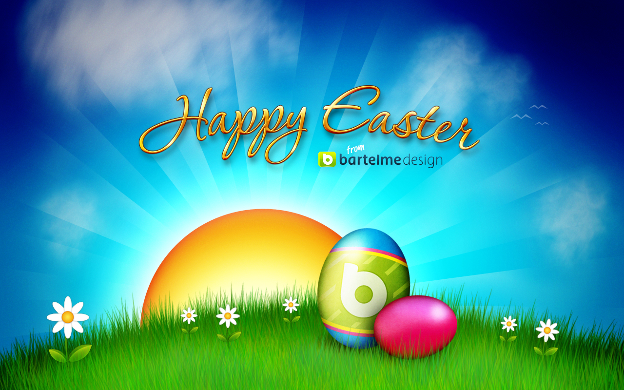 WallpapersKu Happy Easter Wallpapers 1280x800