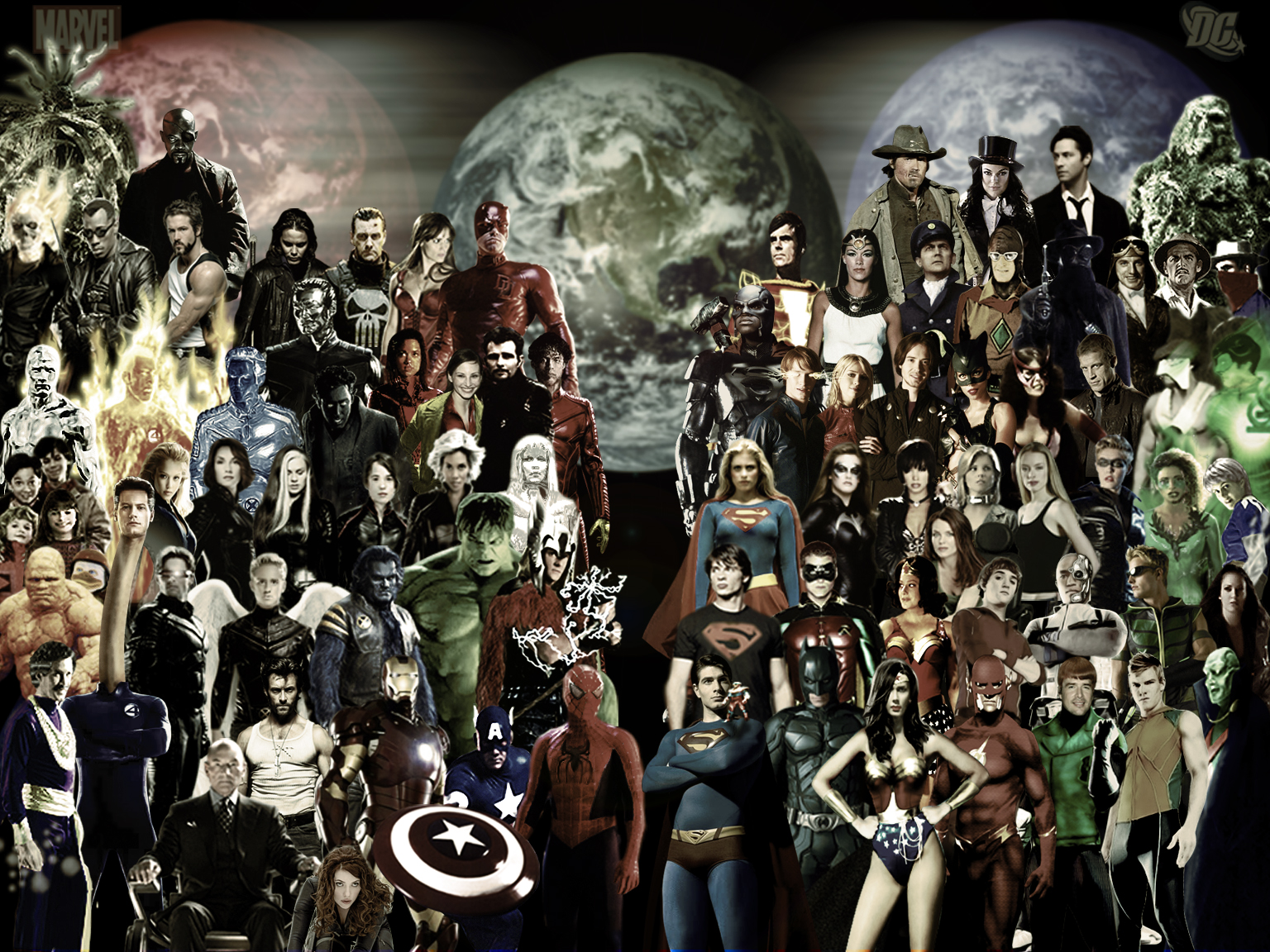DC Vs Marvel HD Wallpapers Backgrounds 1536x1152