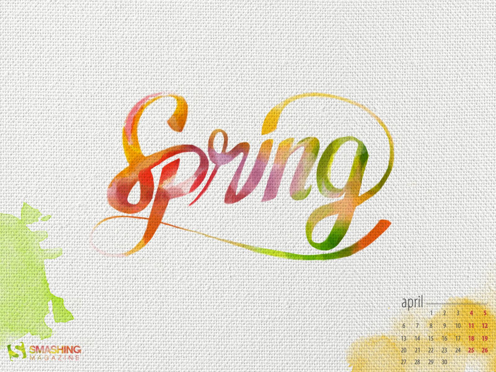 Desktop Wallpaper Calendars April 2015 Smashing Magazine 1600x1200