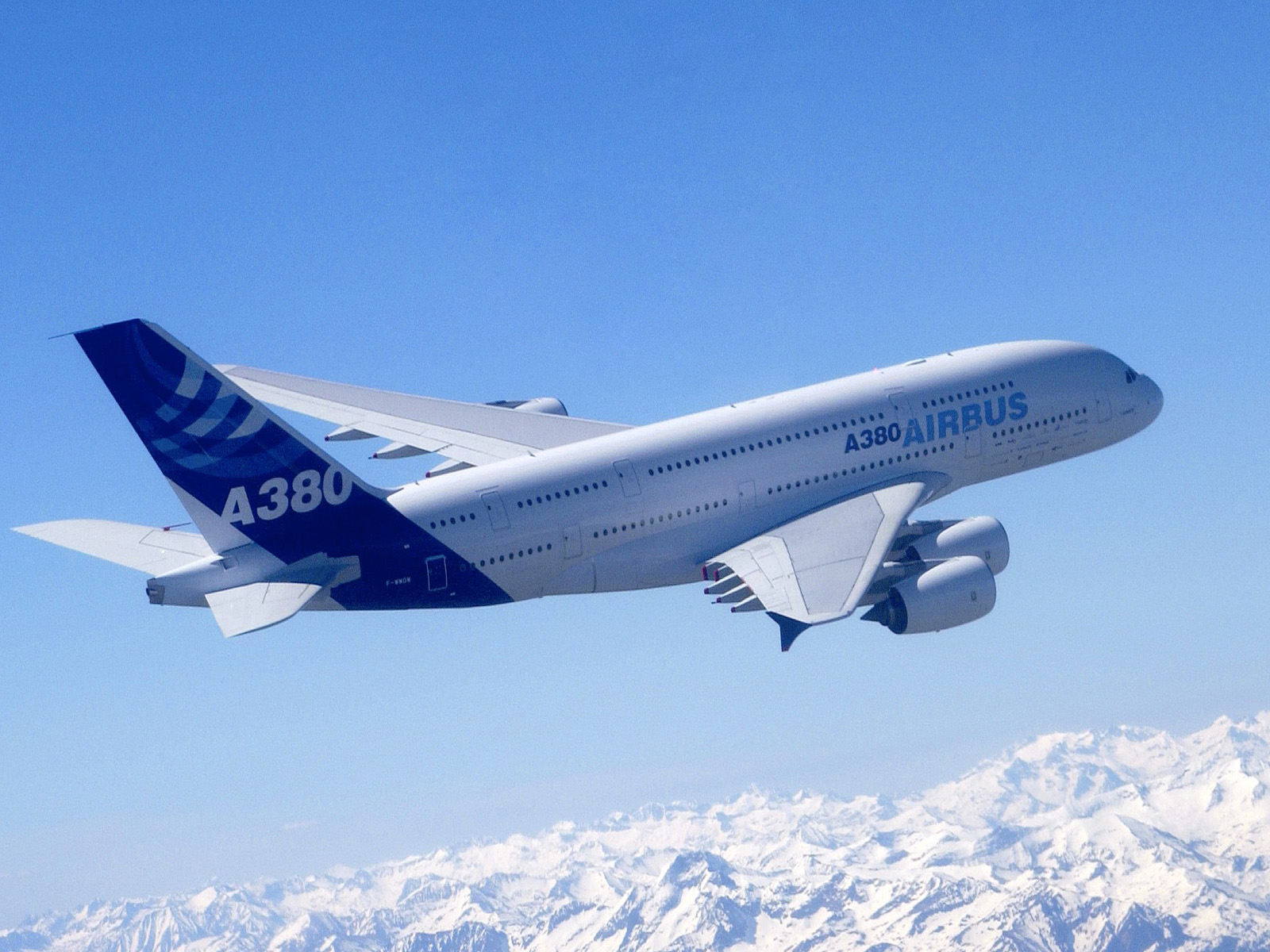 Airbus A380 Desktop Wallpapers for HD Widescreen 1600x1200
