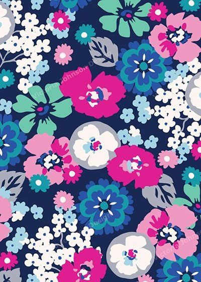 Shabby chic desktop chic wallpaper shabby chic html code - Wallpaper Pink And Blue Flowers Wallpapersafari