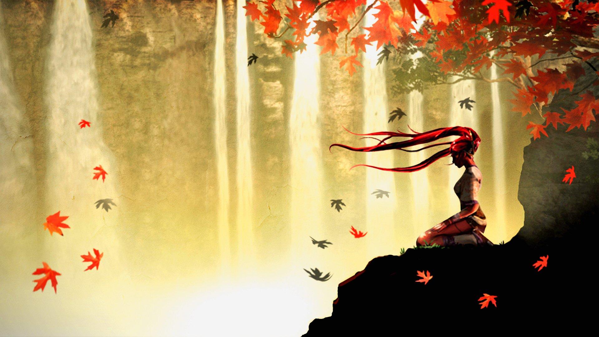 Anime Fall Wallpapers Wallpapersafari