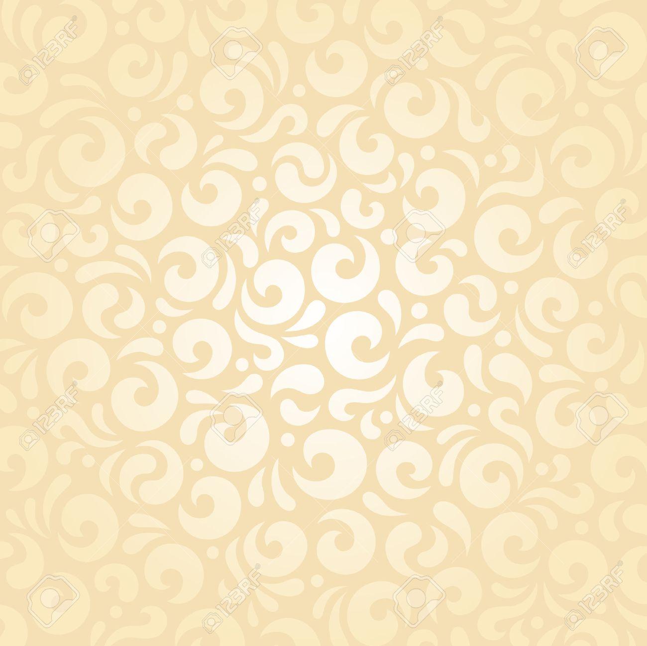 Retro Wedding Pale Peach Invitation Background Design Wallpaper 1300x1298