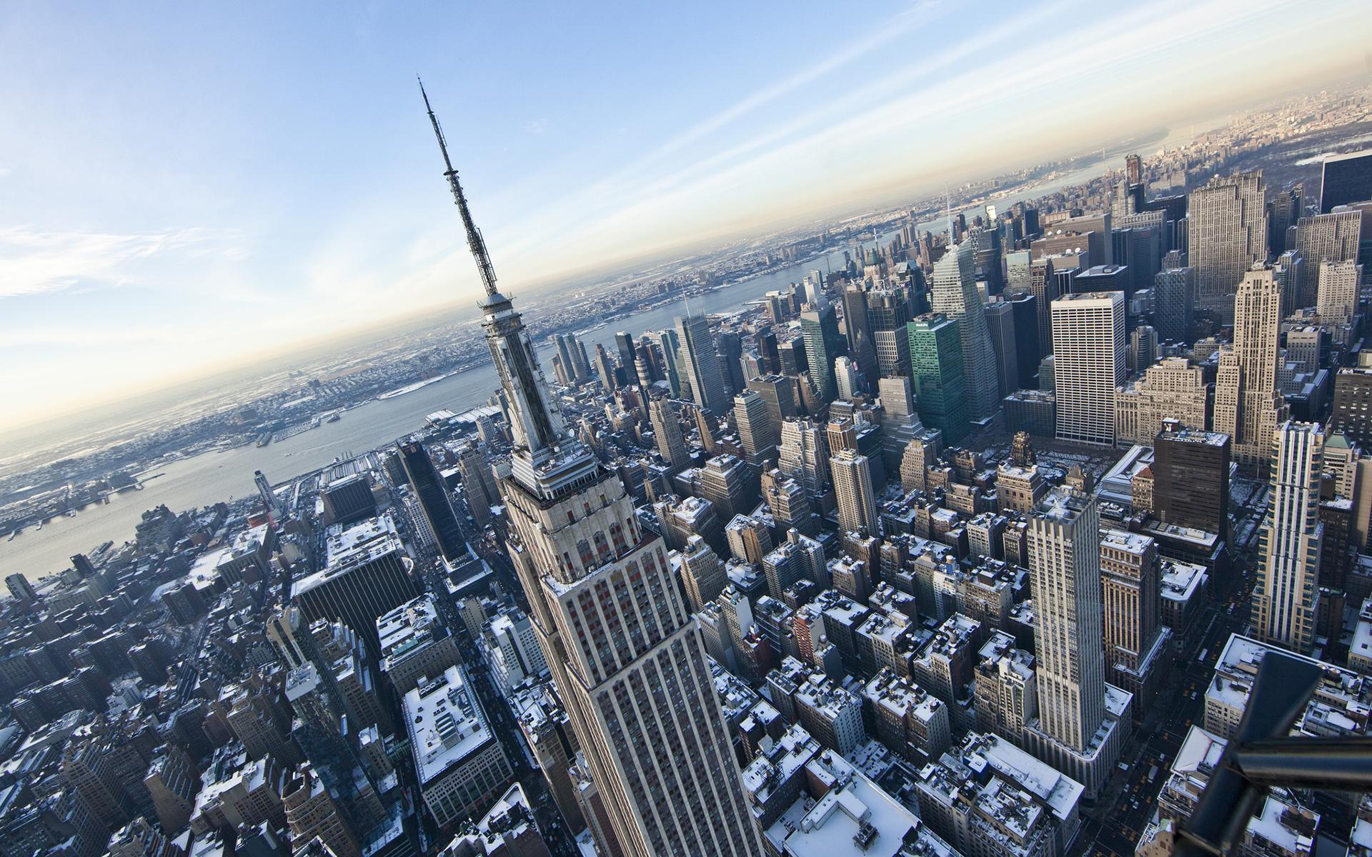 New York Buildings Skyscrapers Winter wallpaper 1920x1200 123754 1920x1200
