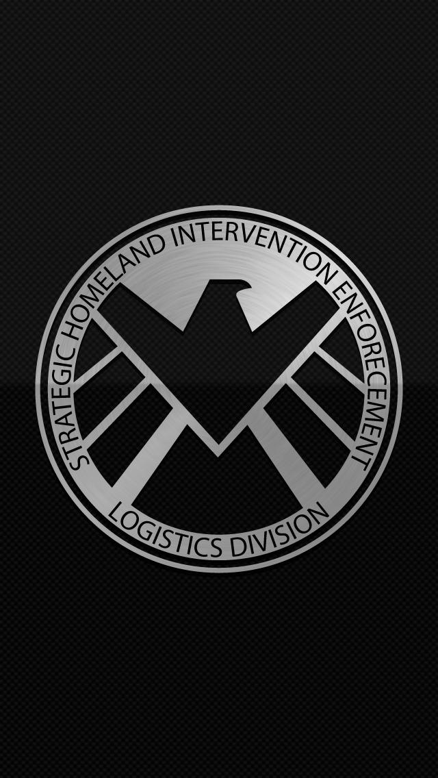 Shield Logo Wallpaper by ItsIntelligentDesign 640x1136