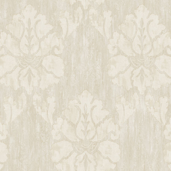 Grey Wood Damask Wallpaper   Wall Sticker Outlet 600x600