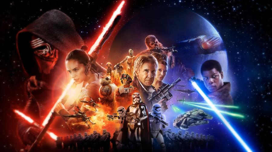 Star Wars The Force Awakens Official Poster 4K Wallpapers 900x506