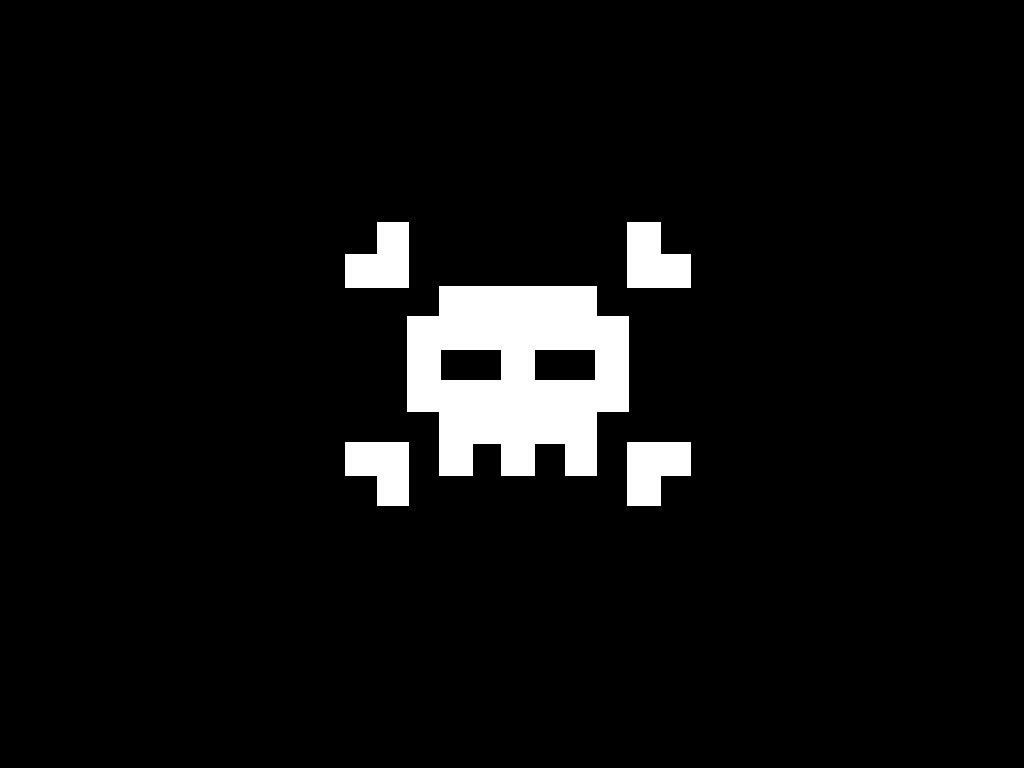 Jolly Roger 16 bit icon   wallpaper download 1024x768