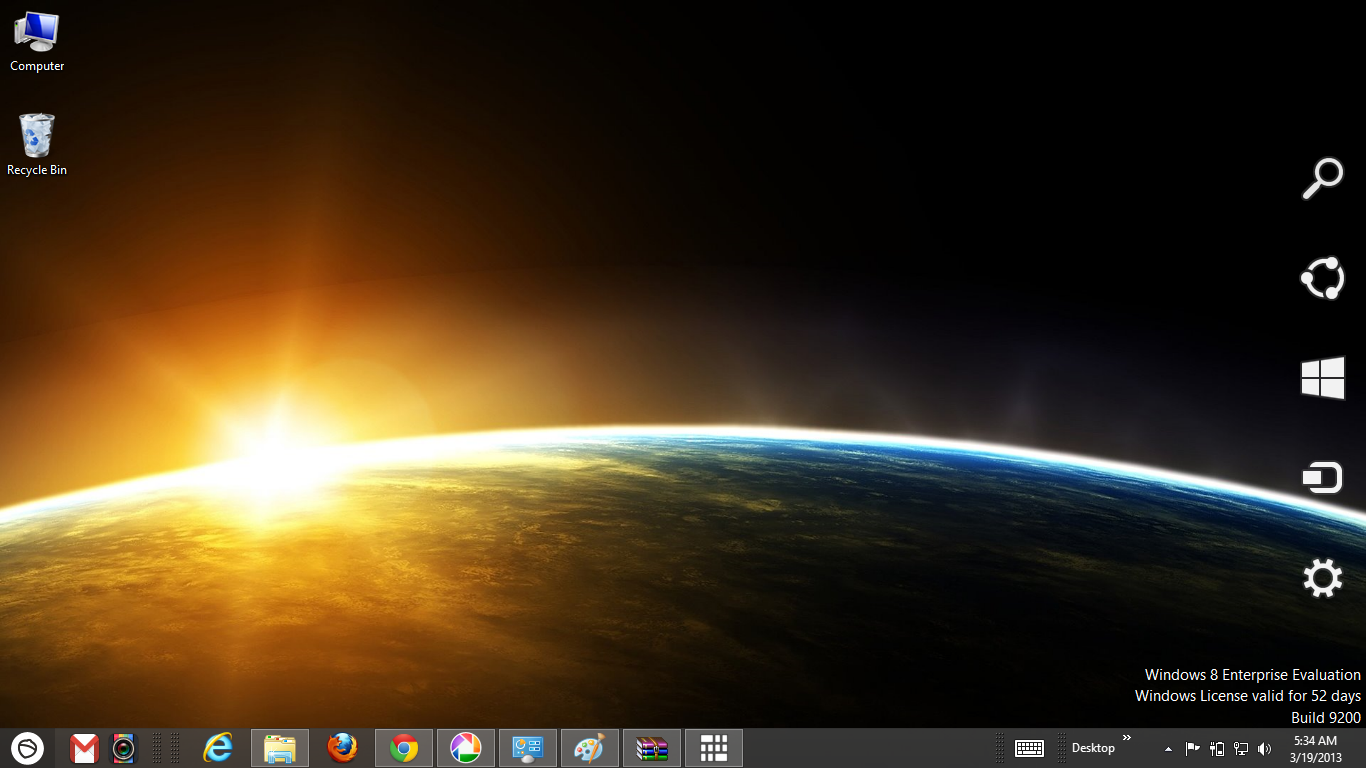 Space Galaxy Windows 8 Theme Ouo Themes 1366x768