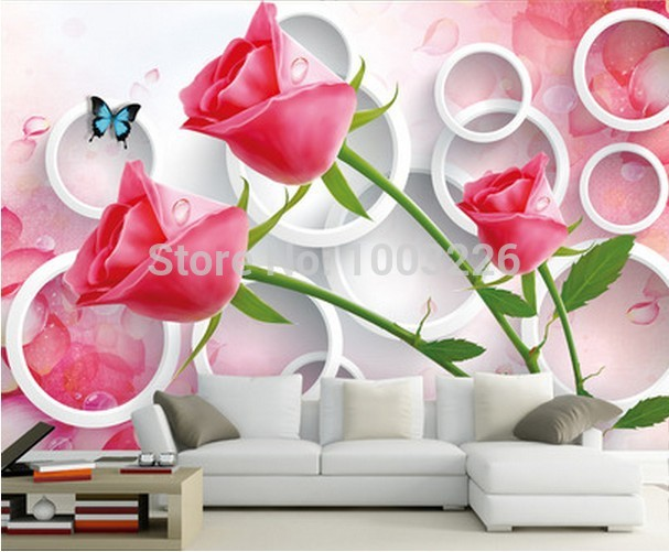 3d wallpaper mural Customize any size murals photo wallpaper 607x501