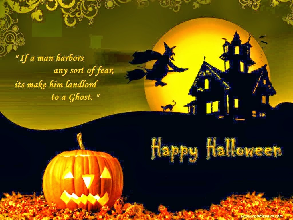 Happy Halloween 2018 Wishes Quotes Messages with Pictures 1024x768